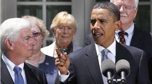 Obama hawks health care overhaul