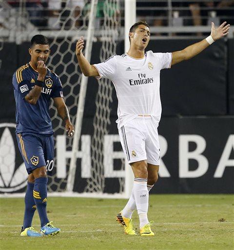 Cristiano Ronaldo, A.J. DeLaGarza