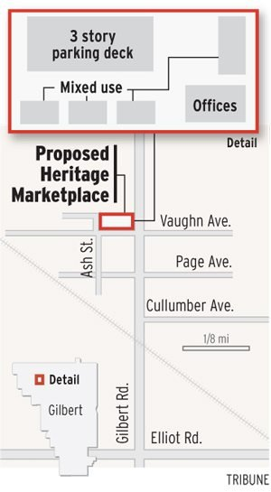 Gilbert Heritage District starts to take shape