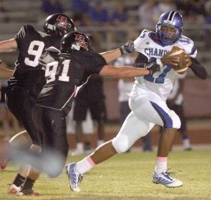 Chandler hangs on at the horn to beat Red Mountain