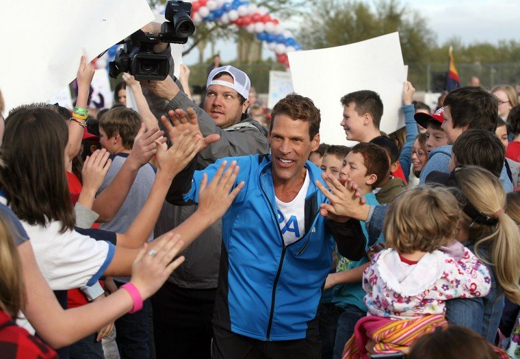 Ultra Runner Dean Karnazes in Mesa.