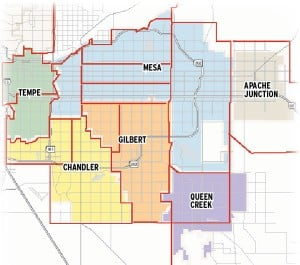 Medical marijuana zones in the East Valley