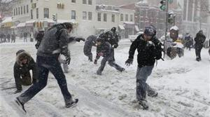 DC chief slams officer over gun at snowball fight
