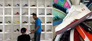 More men seeking sneakers for shoe collections