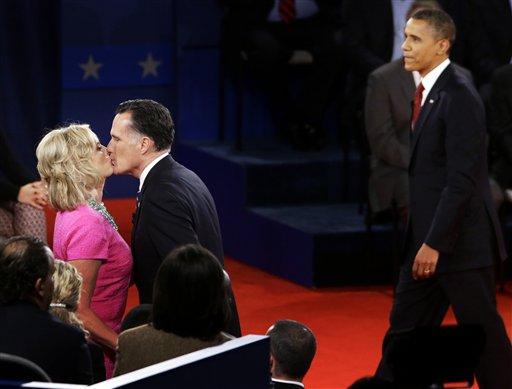 MItt Romney, Barack Obama, Ann Romney