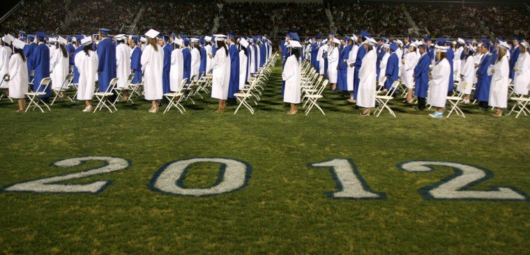 Chandler High Graduation