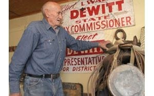 Former Mesa legislator DeWitt happy as gardener