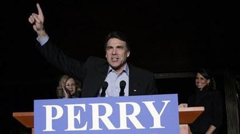 Perry defeats Hutchison in Texas GOP gov. primary