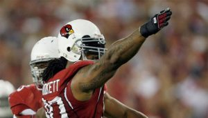 NFL fines Dockett $7,500 for Hasselbeck throat hit