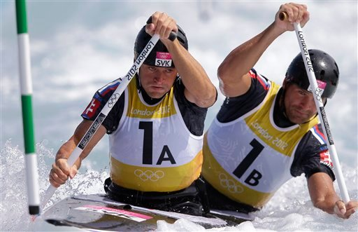 London Olympics Canoe Slalom Men