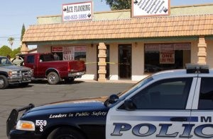 Man dies under carpet roll at Mesa store