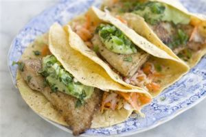 Food-Healthy-Fish Tacos