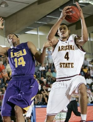 Pendergraph helps ASU defeat LSU in Maui 