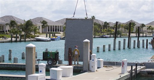 Bahamas Building Up Bimini