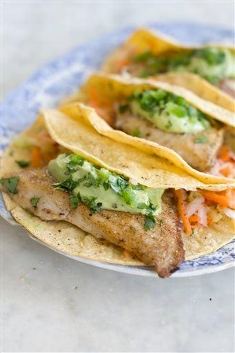 Food-Healthy-Fish Tacos