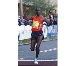 Ethiopians sweep men's, women's marathons