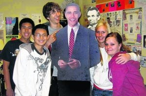 E.V. teens get to see Obama's inauguration 