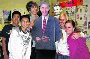 E.V. teens get to see Obama's inauguration