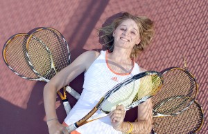 VX All-Tribune girls tennis 2010
