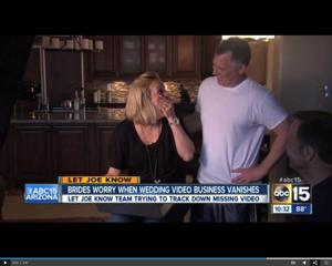 Let Joe Know -- Wedding videos turn up