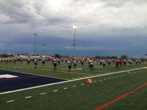Red Mountain vs. Pinnacle football