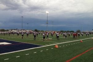 Red Mountain vs. Pinnacle football