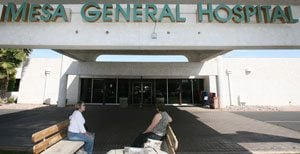 Mesa General Hospital to close after 43 years