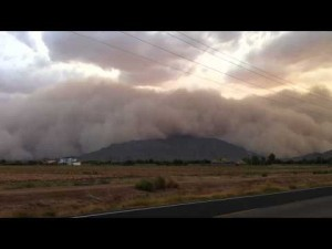 Video: Huge Arizona dust storm
