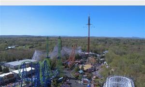 Six Flags New England Sky Screamer