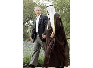 Bush urges Saudis to boost oil production