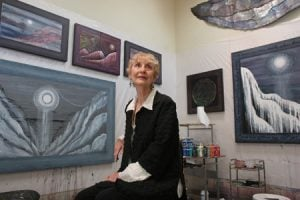 Painter Beth Ames Swartz turned her home into a gallery
