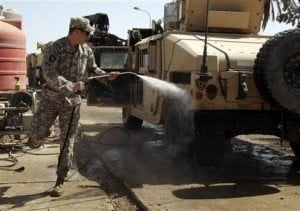 Army troops in Iraq prepare to head to Afghanistan