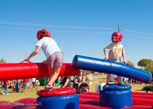 Chandler Day of Play - jousting