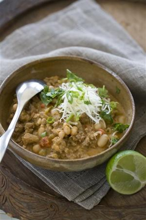 Food Healthy White Chili