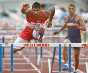 Brophy's Polk posts nation's 6th-fastest time in 110 hurdles