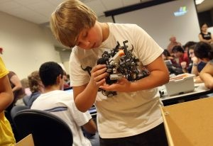 ASU robotics camp clicks for students, teachers