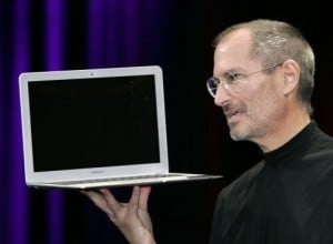 Jobs reveals tiny new laptop 