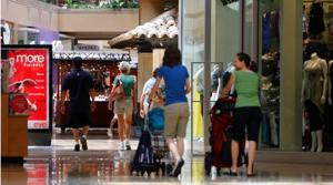 E.V. lost retail space for first time in '09