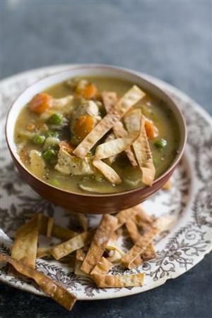 Food Healthy Chicken Soup