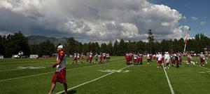 SLIDESHOW: Arizona Cardinals training camp in Flagstaff
