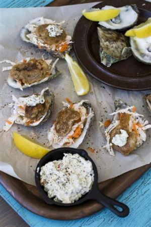 Food-Healthy-Guinness Battered Oysters