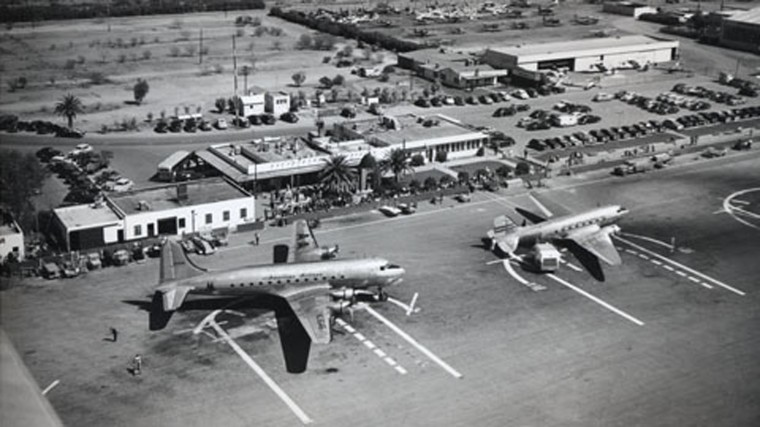 Phoenix's Sky Harbor Airport celebrates 75 years of takeoffs and ...