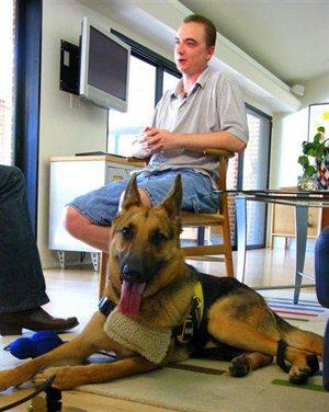 German Shepherd dials 911 when owner has seizure