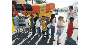 Wienermobile still hot-dogging it at 70