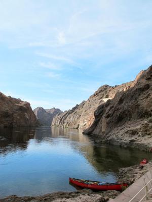 Kayaking Near Vegas