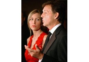 Paul McCartney, wife blame media for split