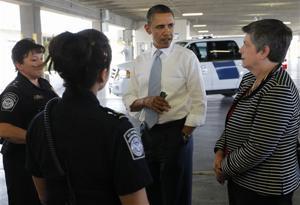 Barack Obama, Janet Napolitano