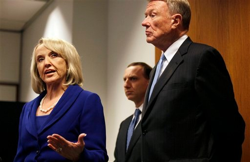 Jan Brewer, John Bouma, Joe Kanefield