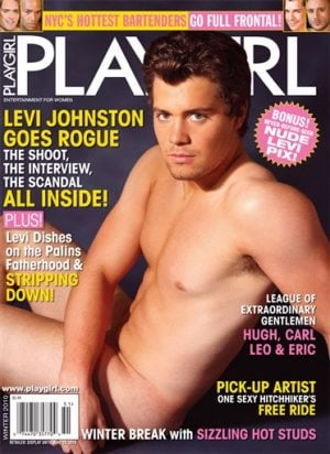 Dad of Palin grandson bares all for Playgirl cover