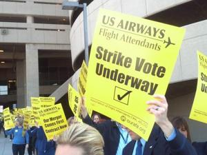US Airways flight attendants to strike?